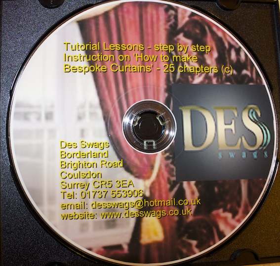 How to make Bespoke Curtains DVD